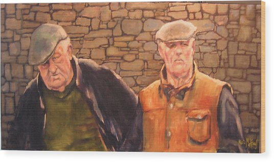 Hanging Out In Killarney Painting By Kevin Mckrell