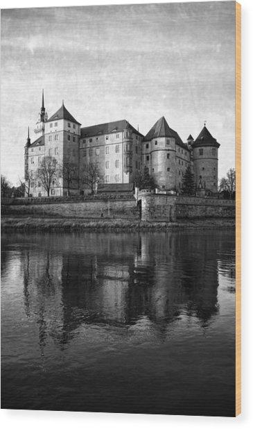 Hartenfels Castle Wood Print by Falko Follert