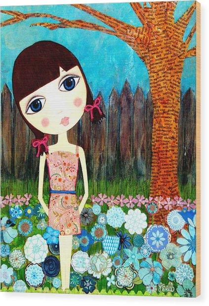 Hayli Wood Print