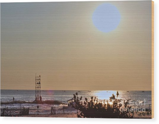 Hdr Seascape Oceanview Beach Beaches Summer Photos Pictures Photography Photo Pics Sea New Picture  Wood Print by Pictures HDR