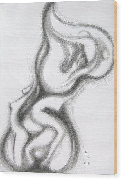 Heart Lariat Wood Print