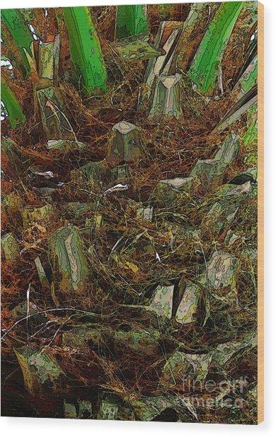 Heart Of Palm Wood Print