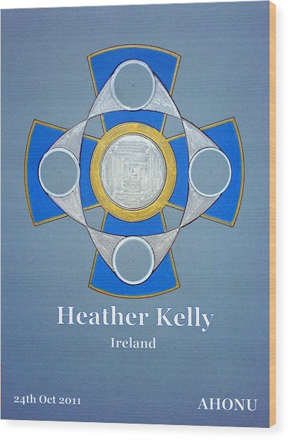 Heather Kelly Wood Print