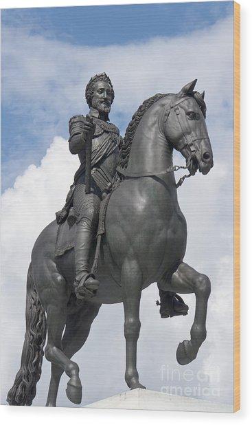 Henry Iv Of France II Wood Print by Fabrizio Ruggeri