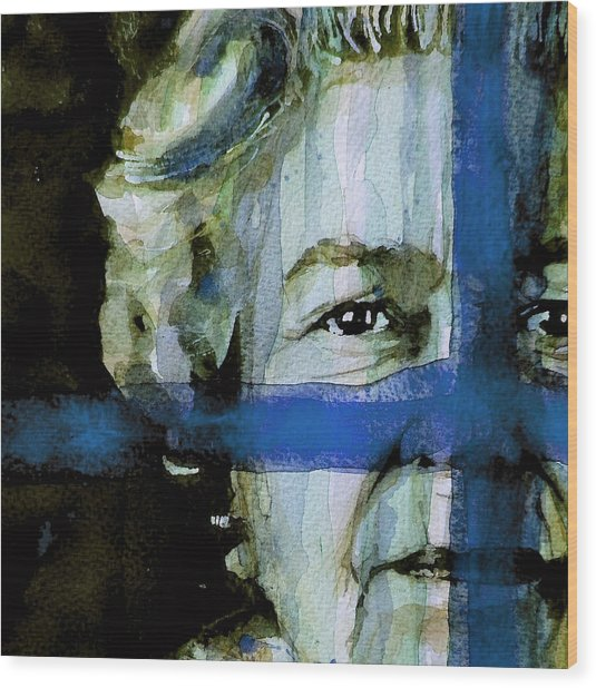 Her Majesty's A Pretty Nice Girl Wood Print by Paul Lovering