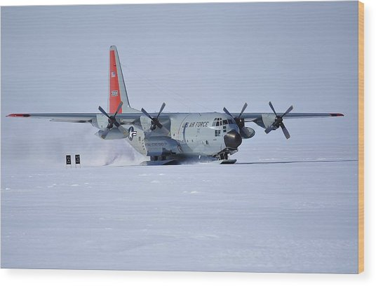 Hercules Lc130h 02 Wood Print by David Barringhaus