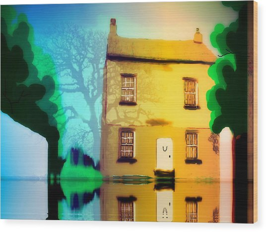 High House Wood Print