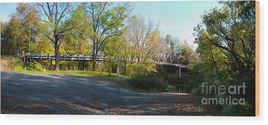 Historic Camelback Bridge Wood Print