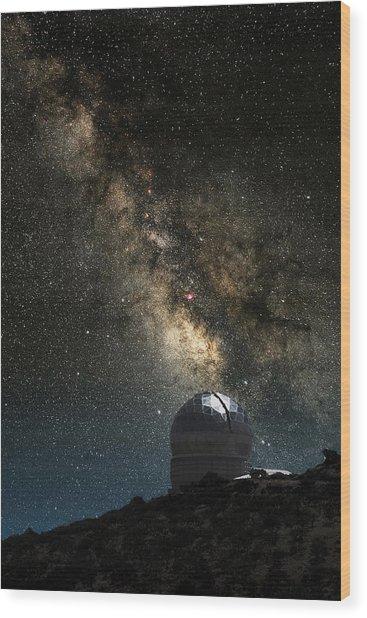 Hobby-eberly Telescope Wood Print