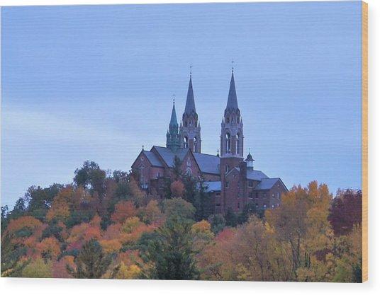 Holy Hill Wood Print