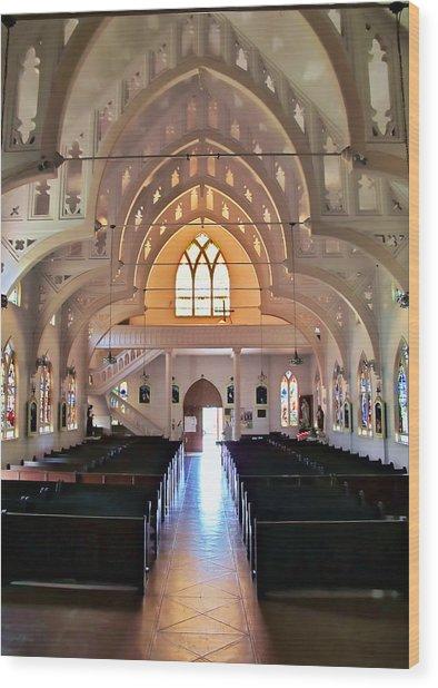 Holy Rosary 2 Wood Print