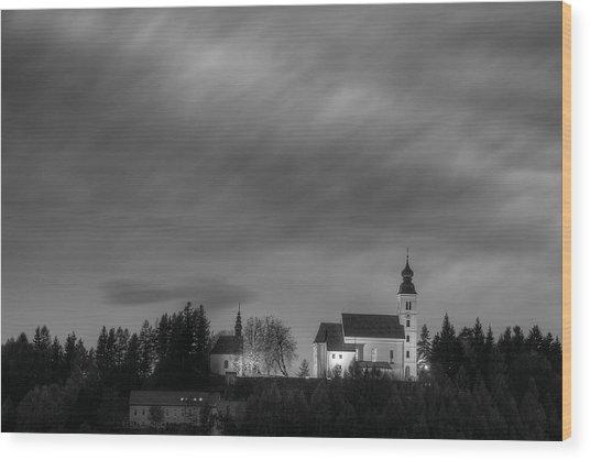 Holy Spirit Church Wood Print