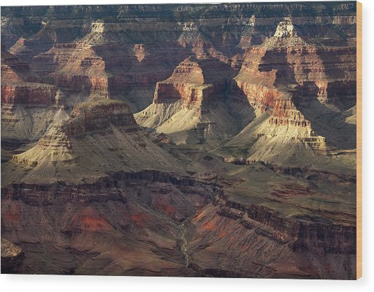 Hopi Point Wood Print by Cindy Rubin