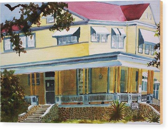 Hopkins House Wood Print