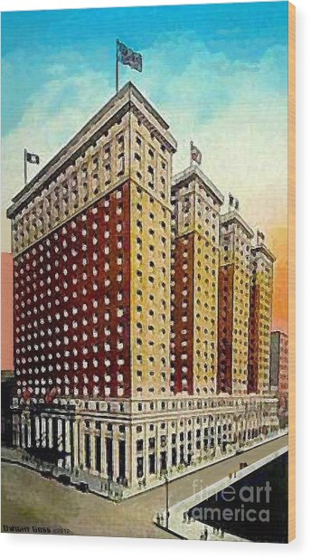 Hotel Pennsylvania In New York City In The 1920's Painting