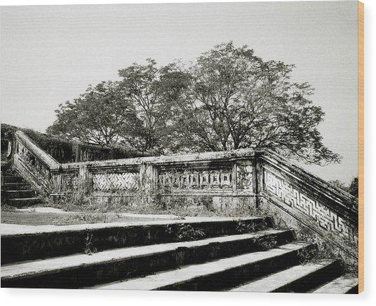 Hue  Wood Print