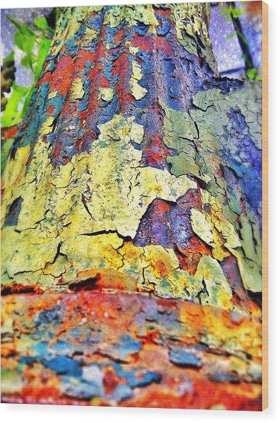 Hydrant 57 Wood Print