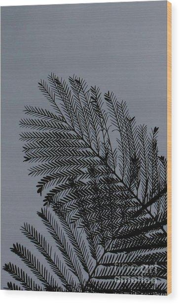In Love Wood Print by Vishakha Bhagat