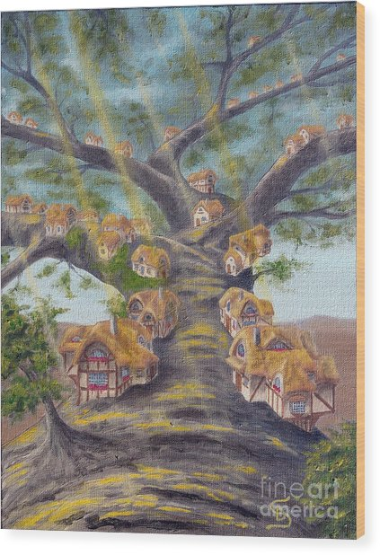 In The Lorn Tree From Arboregal Wood Print