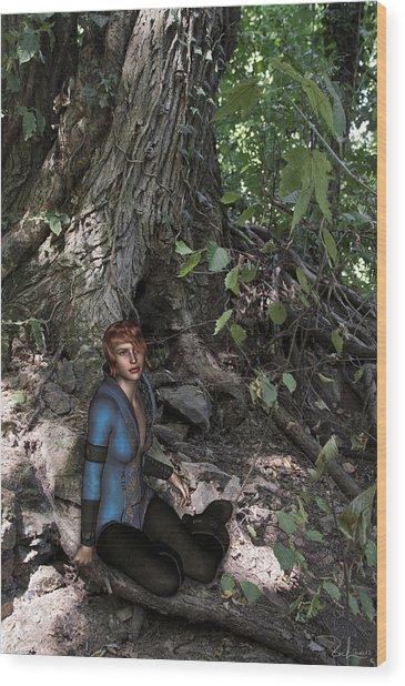 In The Wood Wood Print