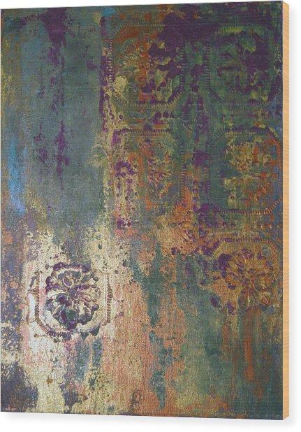Industrial Moss Wood Print