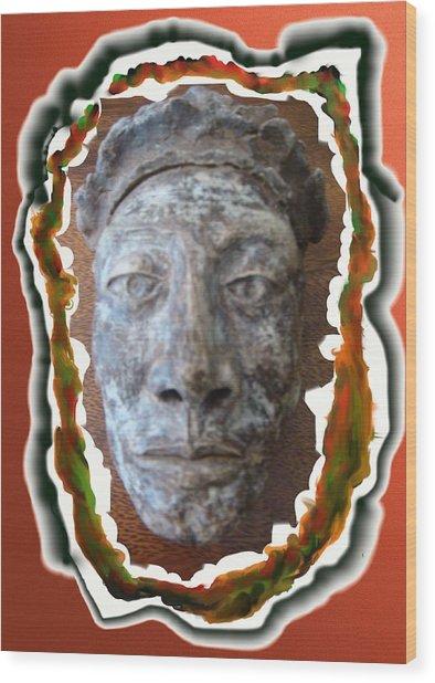 Inkman Wood Print
