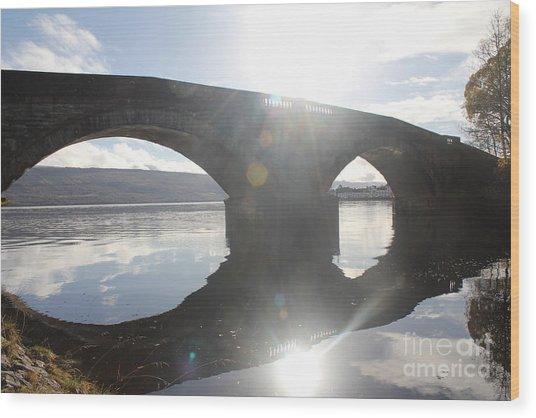 Inveraray Bridge Wood Print