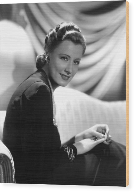Irene Dunne, Paramount Pictures, 1939 Wood Print by Everett