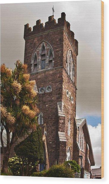 Irish Church Wood Print