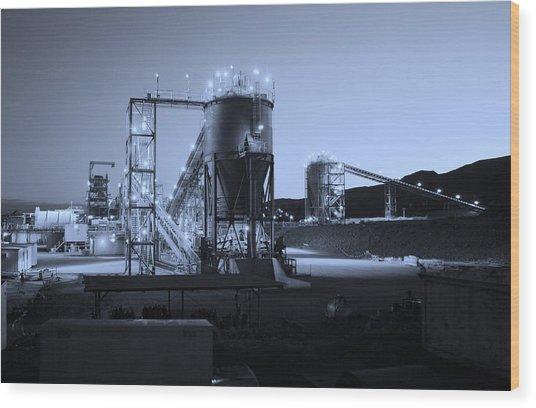 Iron Duke Mine 02 Wood Print by David Barringhaus