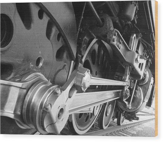 Iron Power  Wood Print