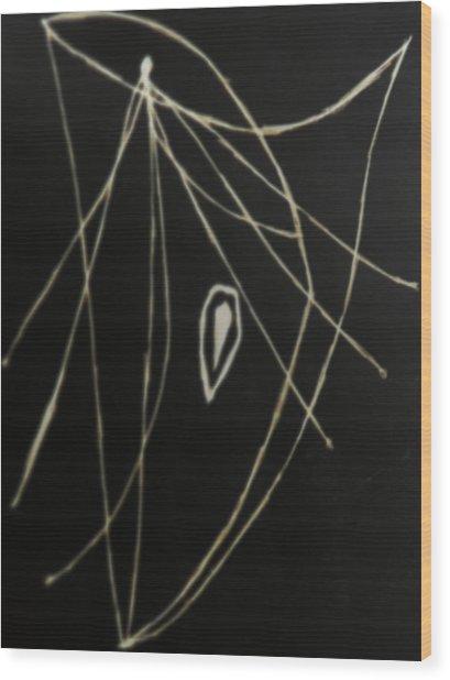 Ishukzitue Wood Print by Coin Iruebenebe