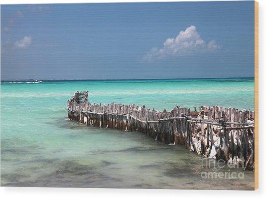 Isla Mujeres Wood Print
