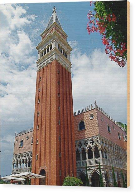 Italy In Orlando Wood Print