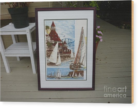Its Old Its New We Love It Coronado Wood Print