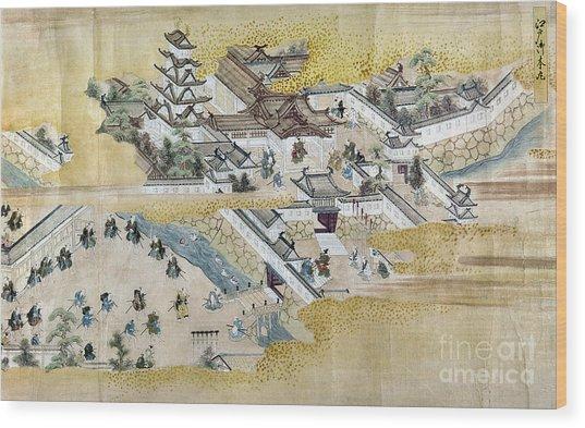 Japan: Castle, C1600 Wood Print