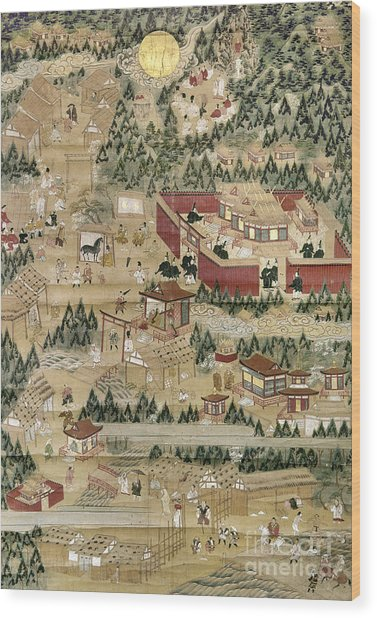 Japan: Shinto Shrine Wood Print