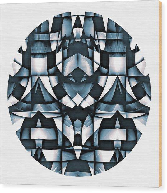 Wood Print featuring the digital art Japan by Visual Artist Frank Bonilla