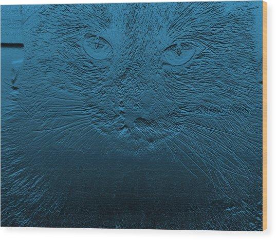 Jazzy Judy Wood Print