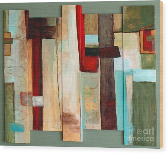 Jewel Five Wood Print