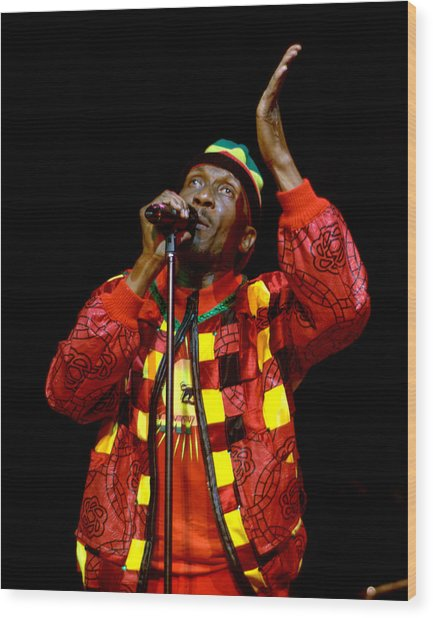 Jimmy Cliff Wood Print