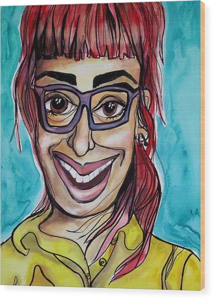 Joana Wood Print