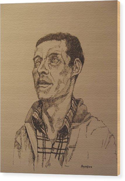 Joe Wood Print by Ray Agius