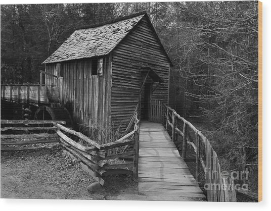 John Cable Mill Wood Print