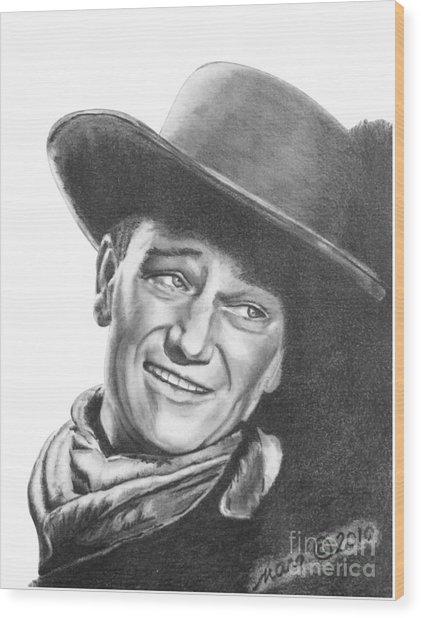 John Wayne   Dreamer Wood Print
