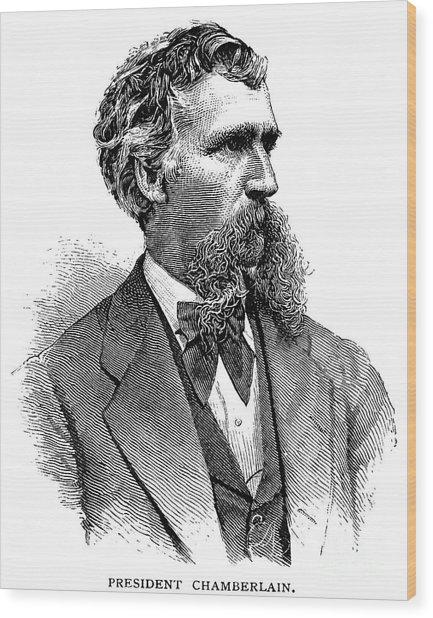 Joshua Chamberlain Wood Print