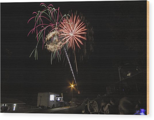 July 4th 2012 Wood Print