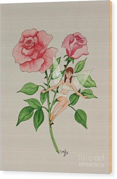 June Wood Print