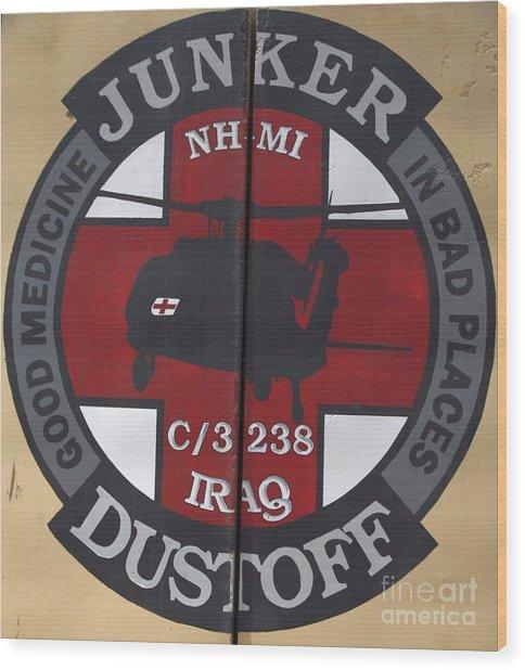 Junker Dustoff Wood Print by Unknown