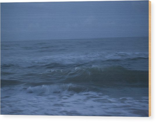 Just Before Sunrise Wood Print by Christina Durity